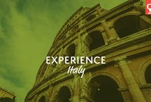 Experience Italy / Classic beauty and history like no other!