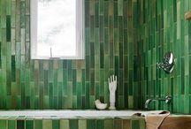 Tile baths