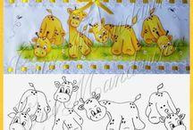 Pintura tecido infantil