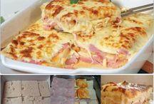 Toastbrot mit Schinken und Käse – lecker!