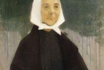 Helene Schjerfbeck (Finish 1862–1946)  Maria, 1909