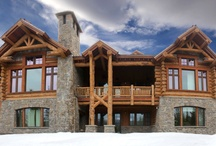 Montana & Wyoming Mountain Homes / A collection of photos from custom home and high end commercial projects in the Northern Rockies.  These projects were built by the team at www.TetonHeritageBuilders.com.