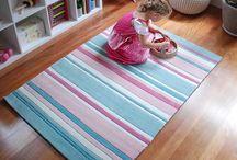 Aqua Kids Rugs / Sweet aqua rugs for kids.  Perfect for baby's nursery, girl's bedroom, or child's playroom.