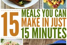 Quick Meals / Easy Meals to share...