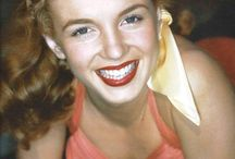 "Norma Jeane Colorized / I'm currently under construction so please excuse all of the ""double"" pictures. :)  / by Ali LeFevre"