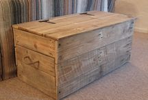 Boxes / Wooden boxes and chests, upcycled, recycled, reclaimed wood, furniture, how to make boxes and chests, box designs, chest designs.