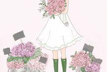 Pretty illustrations