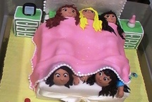 Girls party/ cakes