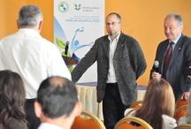 """Bucuresti - ziua II Workshop """"Controlul Integrat al Poluarii cu Nutrienti"""" / La eveniment au participat 104 reprezentanţi ai Agenţiei pentru Protecţia Mediului, APIA, Autoritatea Sanitar Veterinară, DSP, Garda de Mediu, Direcţia pentru Agricultură şi autorităţi locale din judeţele Argeş, Teleorman, Giurgiu, Călăraşi, Dâmboviţa, Ilfov şi Bucureşti. Participanţii sunt instruiţi de experţi de mediu pentru prevenirea poluării apelor şi a solului cu nitraţi."""
