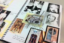 Fashion timeline & sketchbooks (AHS)