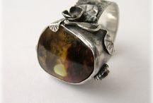 my work II. / silver jewelery