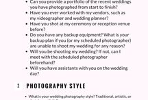 wedding preperation / Includes tips and tricks, timelines