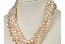 Jewelry - Pearl Strands / by Mary Beehner