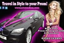 Prom Transport / Prom Transport Service provided to Edinburgh, Fife and Dundee. Selection of transport available