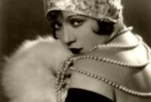 """1920s Fashion / I find this era fascinating, especially the women and the fashions of the times.  I love the fashions and style, so glamorous.  The """"flapper"""" is iconic and """"we"""" love her. / by Carmen Barela"""