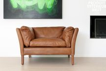 Leather Sofas and Armchairs / All the leather seating you could ever need for your industrial or Scandinavian décor.