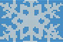 Perler beads/cross stitch