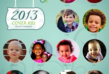 Cute Kids / Adorable children.  Cover Kid Search Winners