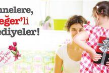 Annelere Değerli Hediyeler / Anneler Gününde annenize bir sürpriz hazırlamak ister misiniz?  9 Mayıs'ta facebook sayfamızda soracağımız sorunun doğru yanıtı online@enplus.com.tr adresine gönderen 1., 100. kişiler ile birlikte 11 Mayıs Anneler Günü'nde annesine harika bir sürpriz yapacağız.  Bizi takip edin!