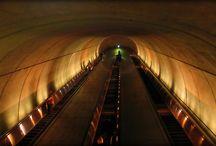 Subway Travel / Subway metro trip photos
