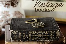 Vintage & Antique Books / by Judy Obst