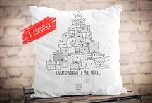 Produits de Noël À Plate Couture / Jolis produits originaux de Noël pour les tout-petits.