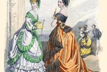 1860s - fashion plates