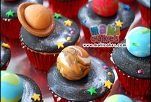 Birthday party- Outer Space Theme