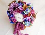 baby flower hat/crown