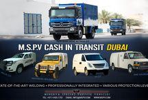 Cash in Transit CIT Vehicles Dubai