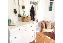 Boho bedroom : How to by OpendoorStudio / boho bedroom ideas, boho bedroom decor, rustic bedroom decor, indie bedroom decor, home decor, bohemian, boho style, boho room  redo, small space decor, interior decor, interior design, opendoorstudio, open door studio,