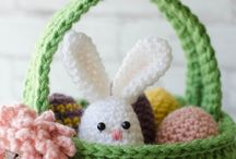 Easter basket crochet