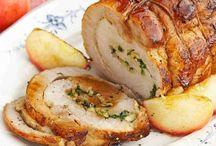 Syr, mäso-recepty