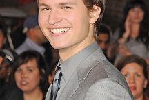 My Ansel Elgort / He's mine. Really really I fell in love the way he look at Hazel~~~ I love you Ansel.!!!!