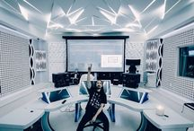 Cool music studio design