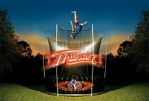 Thunder: The Revolution / Thunder is a revolutionary trampoline developed by Vuly Trampolines. Thunder is a springless trampoline with the best bounce rating available!