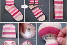 lavoretti con le calze