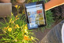 Clutch4iPad in the garden / Clutch4iPad works great while you're gardening.  / by DC Mobile Design