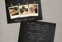 Wedding : Carte de remerciement / Wedding