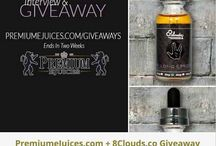 Premium e Juice Winners! / PremiumeJuices.com and VAPEMagazine.com presents the winners of hosted on-going giveaways!