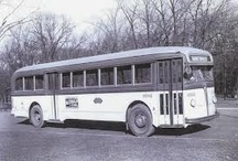 vintage buses and streetcars / by Bob Cowan