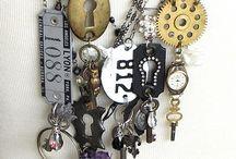 found objects jewelry