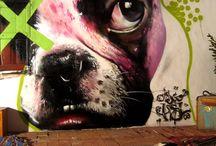 Murais graffiti