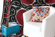 Linens, cushions