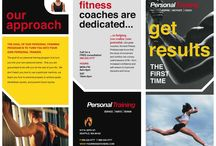 Flyer and Poster Ideas for Personal Trainers / Need inspiration for your personal training adverts?