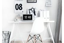 Office / Workspace / Inspirational office decor and beautiful workspaces. We especially love modern, scandinavean styling and décor.