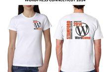WordCamp t-shirts