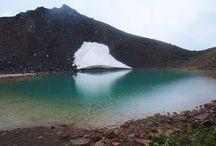 御嶽山(北アルプス)登山 / 御嶽山の絶景ポイント 北アルプス登山ルートガイド。Japan Alps mountain climbing route guide