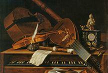 instruments de musique avec flûte à bec