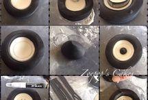 Fondant tires